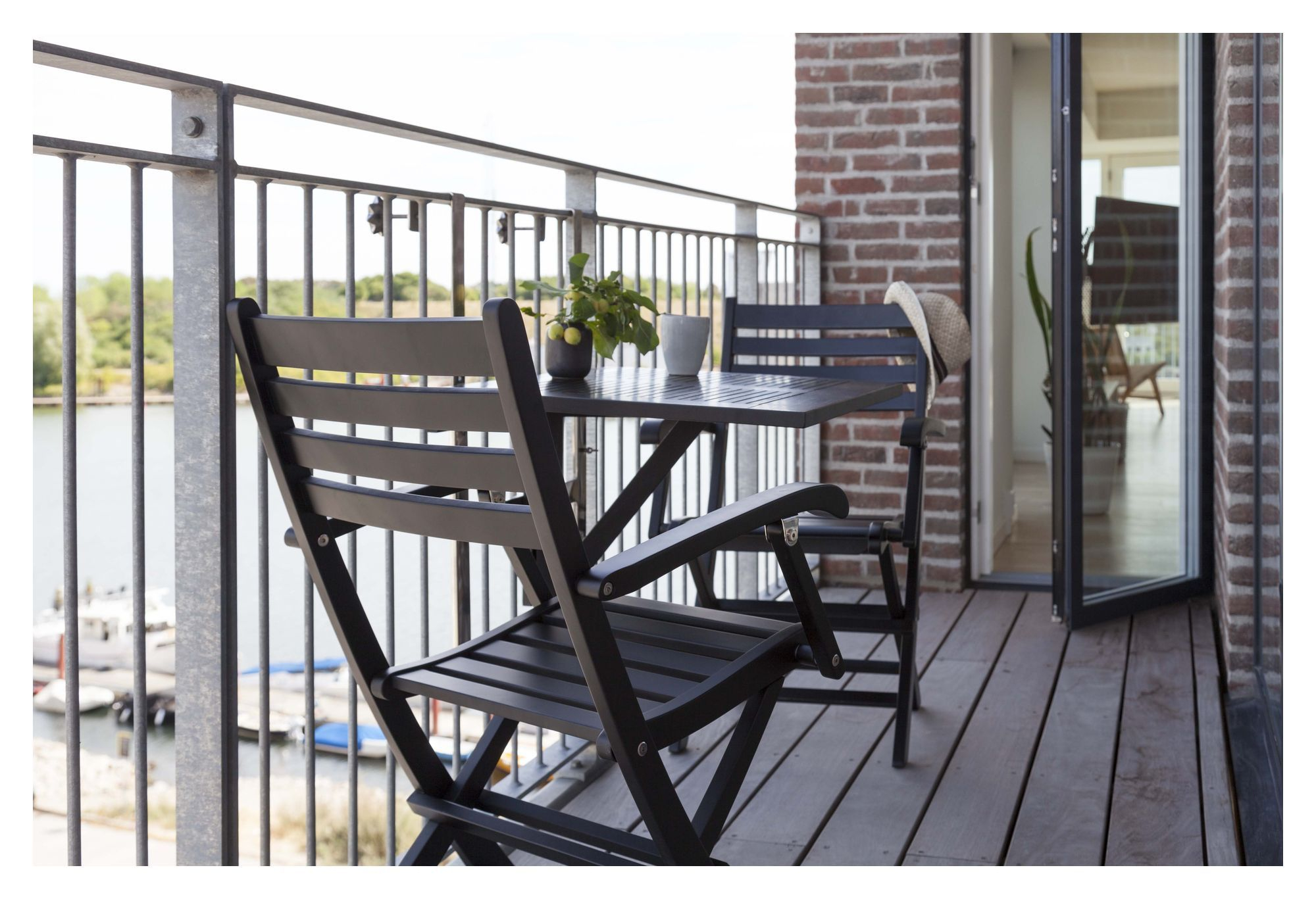 Balcony Altanbord - Sort