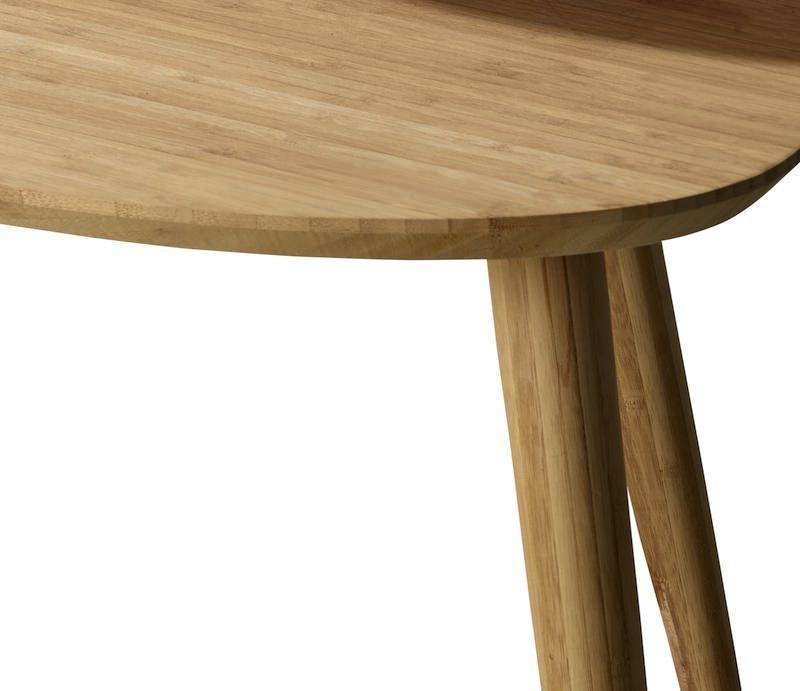 Noble Indskudsbord - Bambus - Indskudte sideborde i bambus