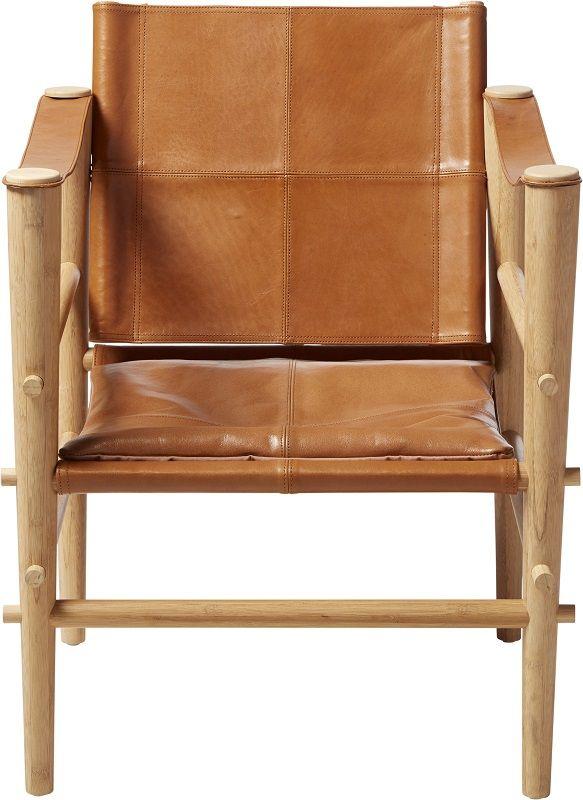 Siddepude til Noble Safari stol, Brun
