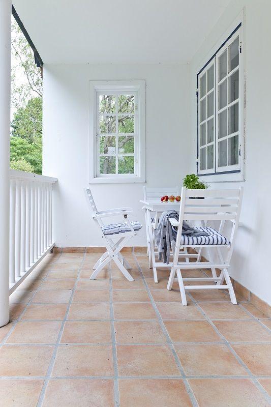 York Havestol - Hvid - Klassisk havestol i hvid mahogni