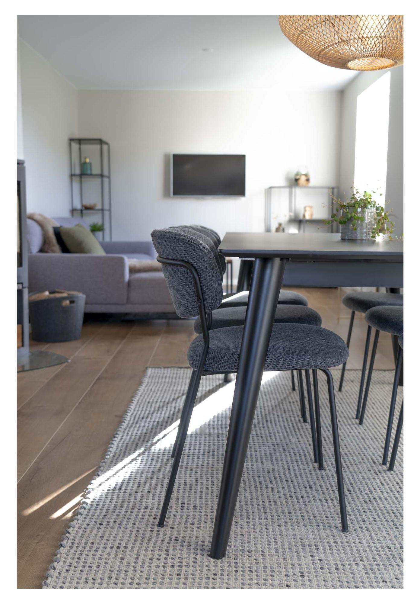 Copenhagen Spisebord 150/230x95 - Sort