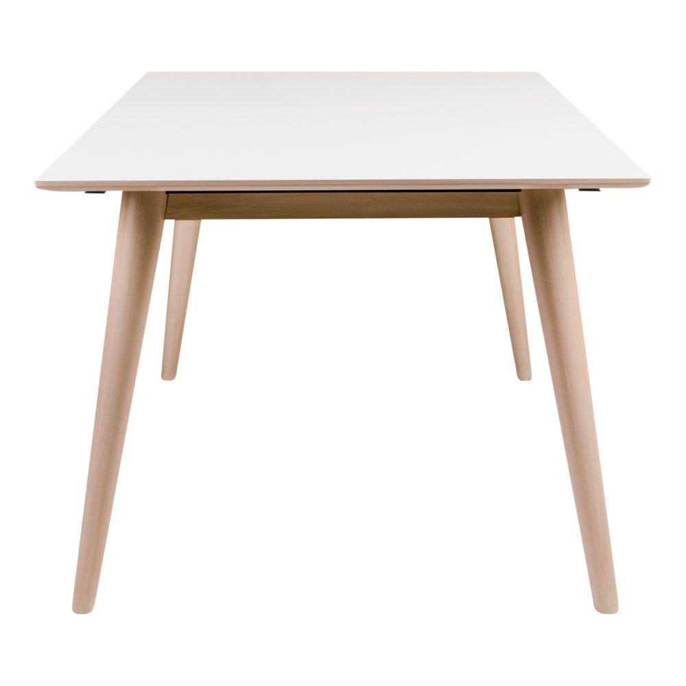 Copenhagen Spisebord hvid med natur 150/230x95cm