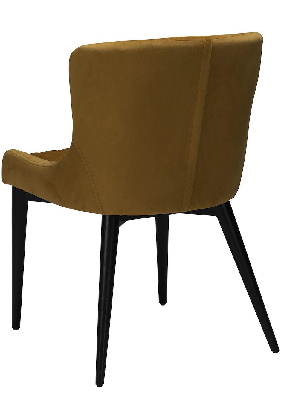 Danform, Vetro Spisebordsstol Bronze Velour