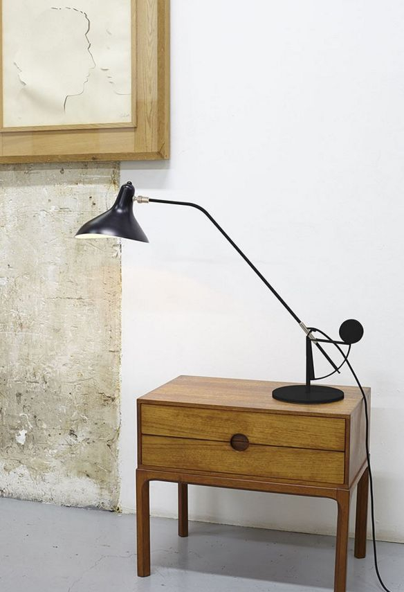 DCWeditions Mantis Bordlampe - Sort