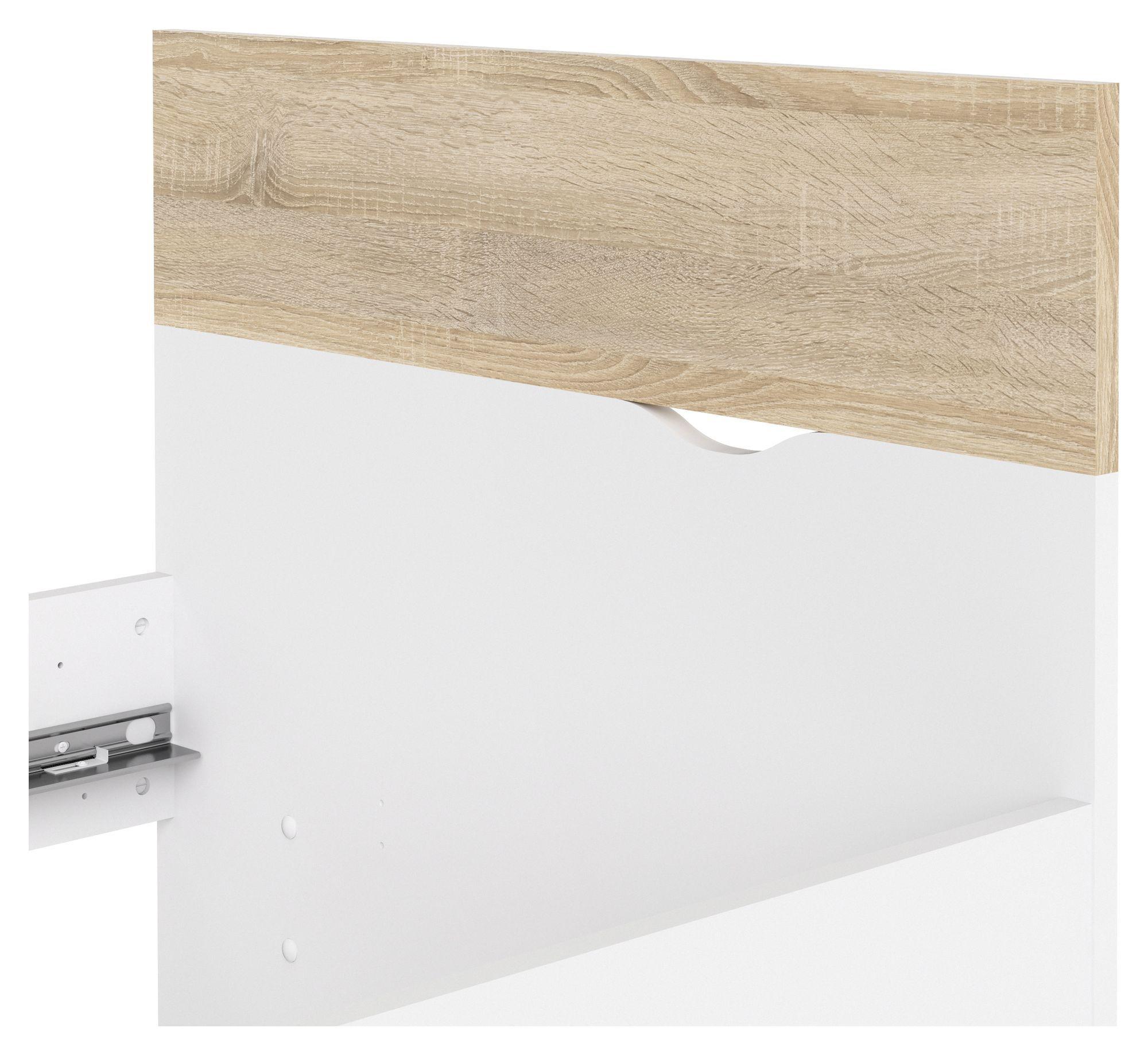 Delta Sengeramme - Egelook/Hvid, 90x200