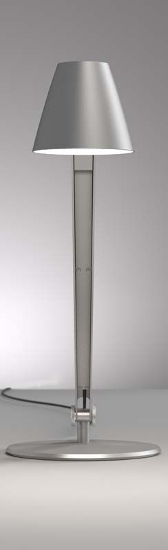 Nordlux DFTP Cult Bordlampe - Grå - Grå bordlampe i metal