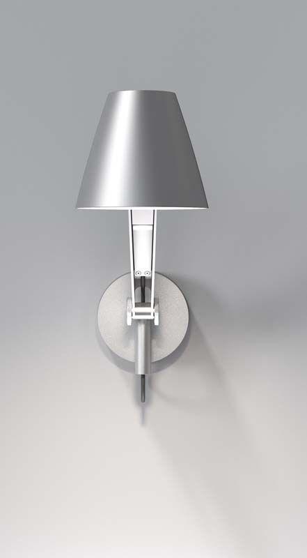 Nordlux DFTP Cult Væglampe - Grå - Grå væglampe i metal