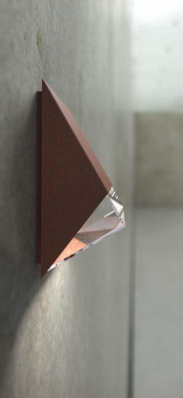 Nordlux DFTP Edge Væglampe - Rust - Rustfarvet væglampe i metal