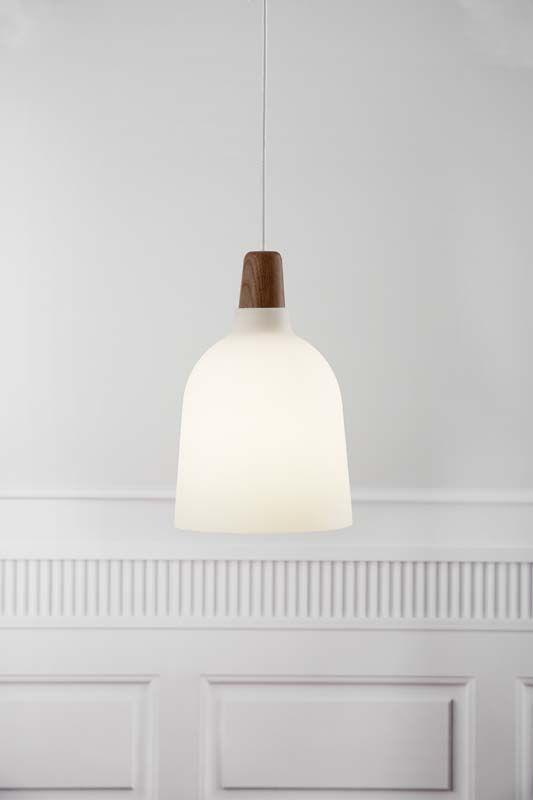 Nordlux DFTP Karma Pendel - Hvid - Hvid pendel med træ detalje - Ø20