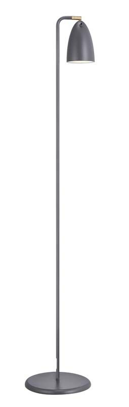 Nordlux DFTP Nexus 10 Gulvlampe - Grå - Grå gulvlampe i metal