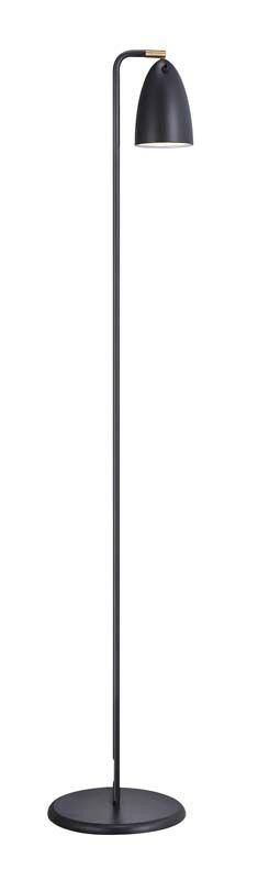 Nordlux DFTP Nexus 10 Gulvlampe - Sort - Sort gulvlampe i metal