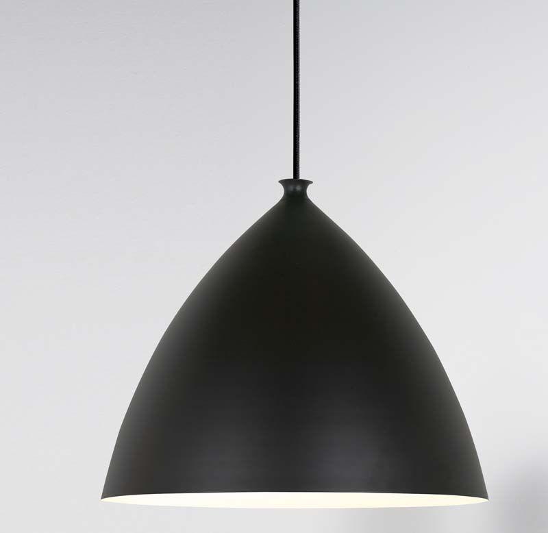Nordlux DFTP Slope Pendel - Ø30 - Pendel i sort metal