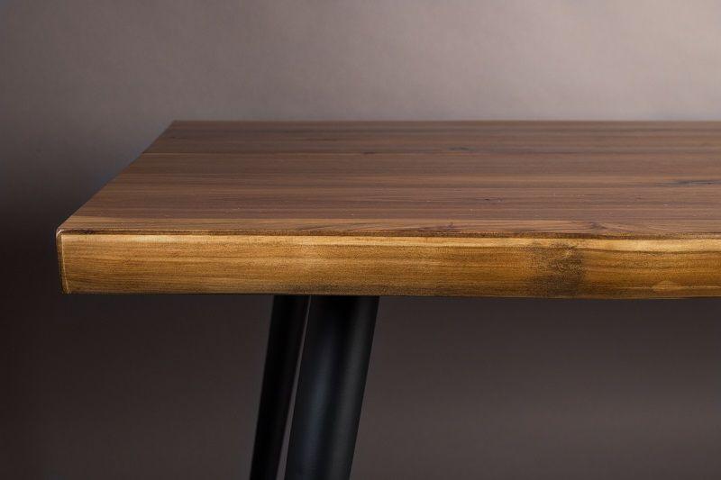 Dutchbone - Alagon Spisebord 220x90 - Sorte ben
