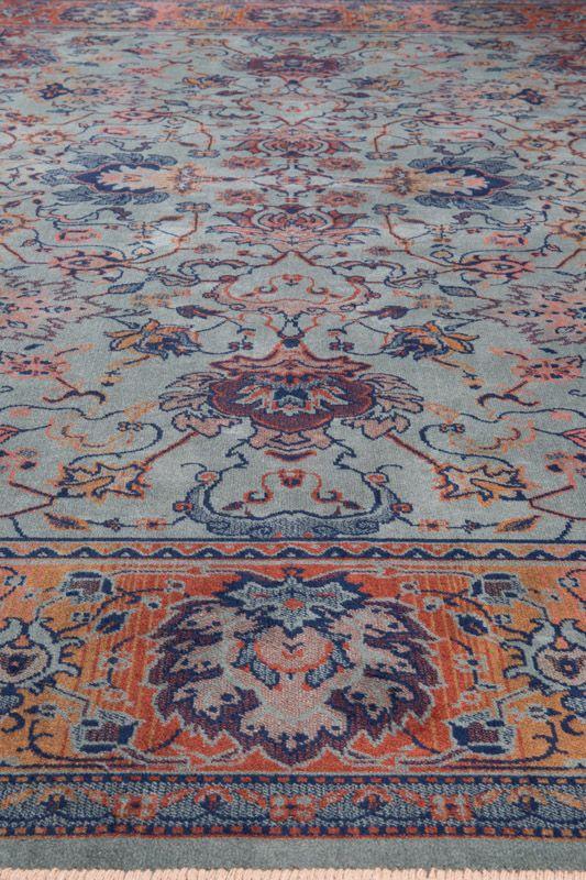 Dutchbone - Bid Tæppe 170 x 240 cm - Grøn - Vævet tæppe i grøn