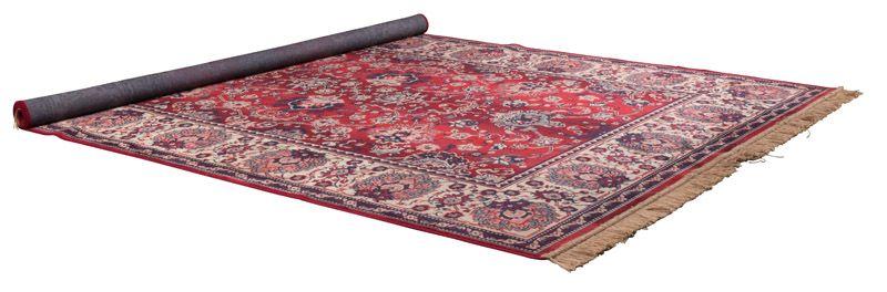 Dutchbone - Bid Tæppe 170 x 240 cm - Rød - Vævet tæppe i rød