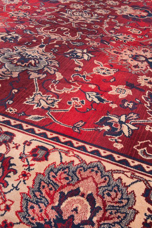 Dutchbone - Bid Tæppe 200 x 300 cm - Rød - Rødt vevet teppe