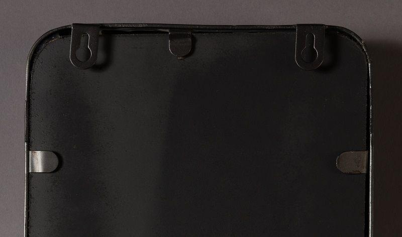 Dutchbone - Blackbeam Spejl - Sort - Spejl med sort ramme