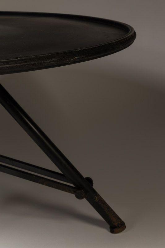 Dutchbone Brok Sofabord - jern - Vintage Sofabord i jern