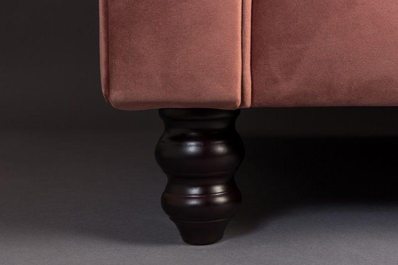 Dutchbone - Chester 2-pers. Sofa - Mørk Pink