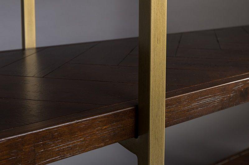 Dutchbone - Class Reol m/stålramme - Acacia finer