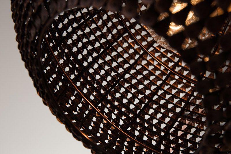 Dutchbone - Cooper Pendel - Kobber - Ø30 - Kobberfarvet metal - håndlavet