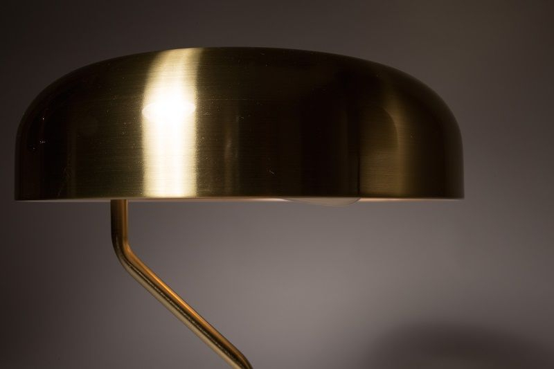 Dutchbone - Eclipse Gulvlampe - Metal - Gulvlampe i messing