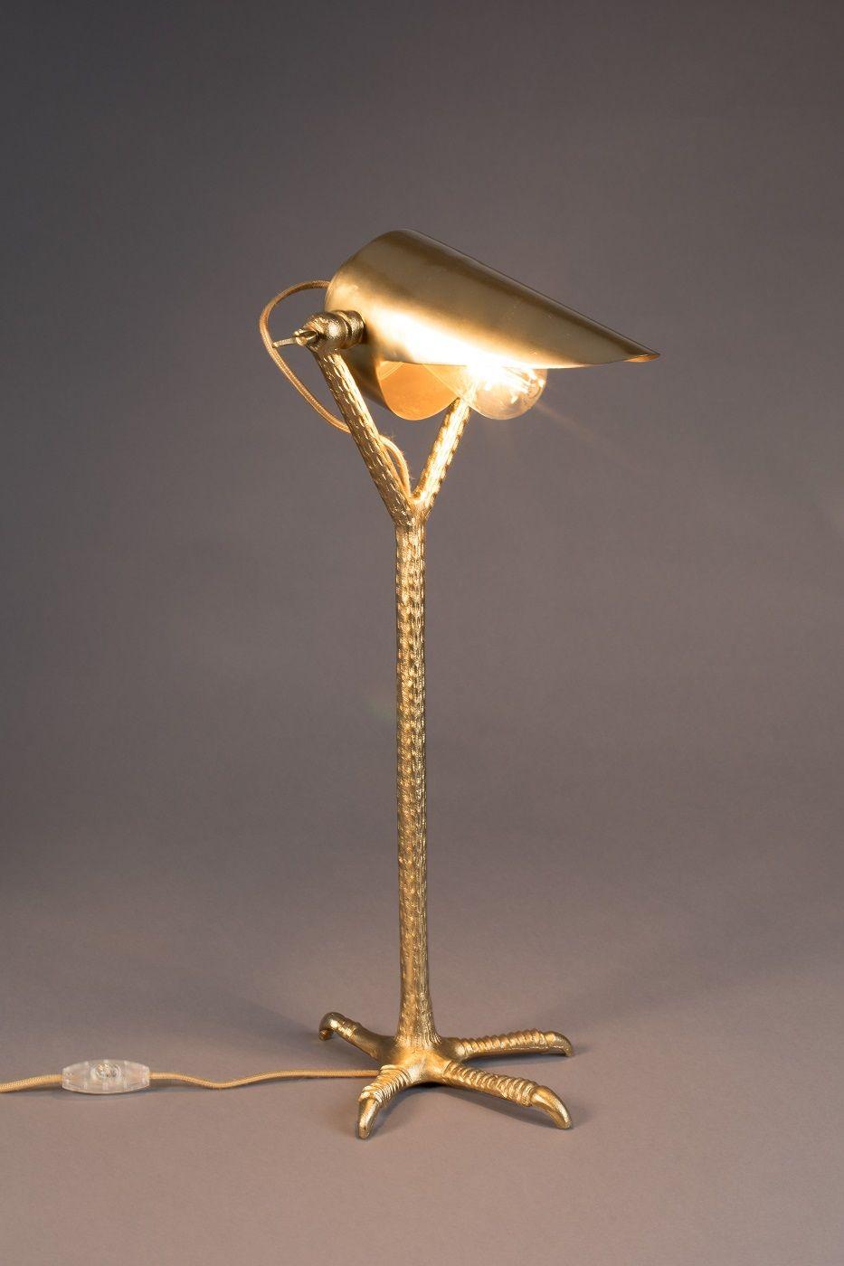 Dutchbone - Falcon Skrivebordslampe - Messing