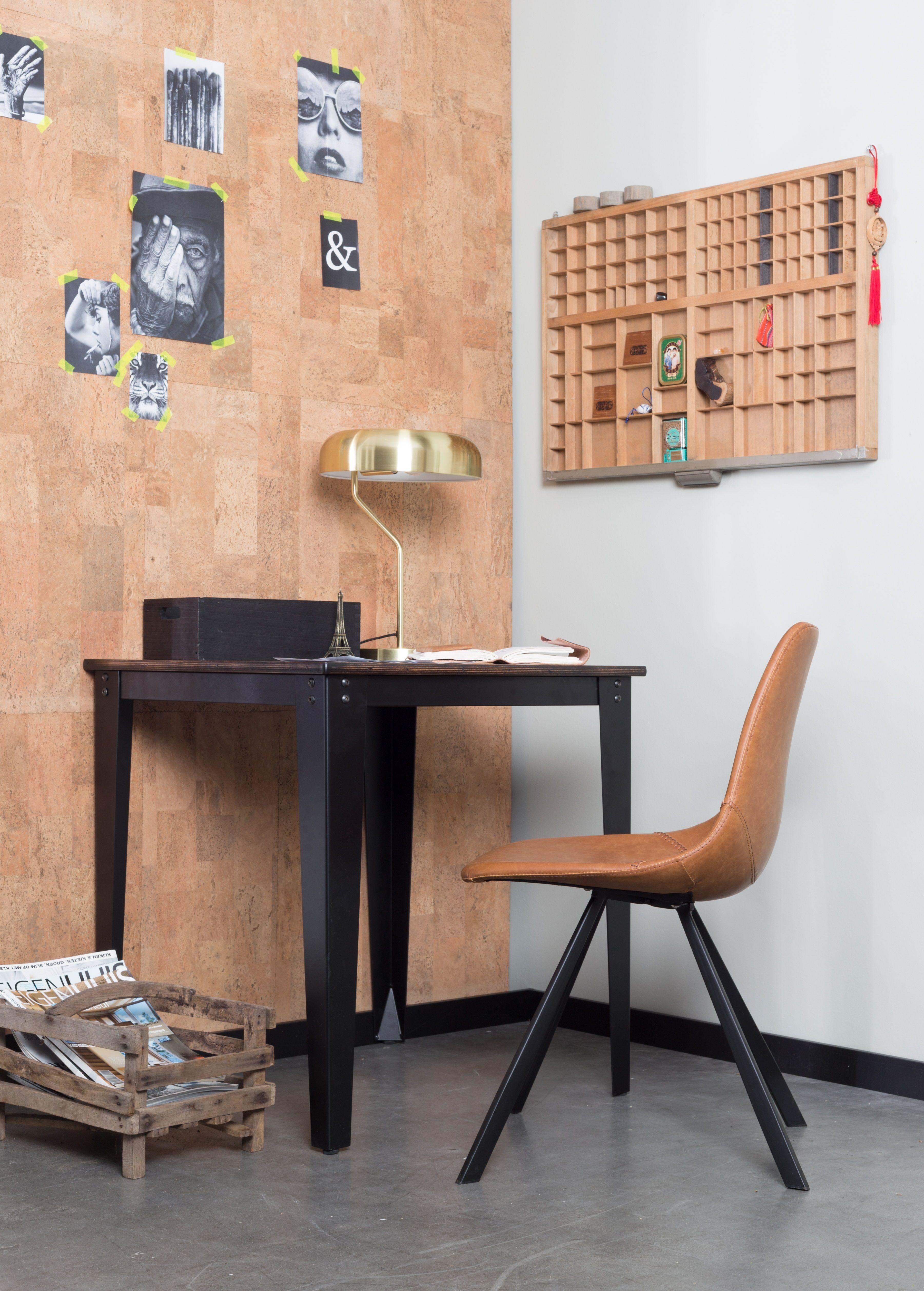 Dutchbone - Franky Spisebordsstol - Brun - Brun spisebordsstol