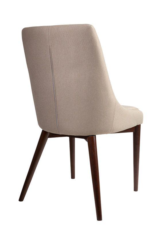 Dutchbone - Juju Spisebordsstol - Khaki - Spisebordstol i kaki med ben i ask