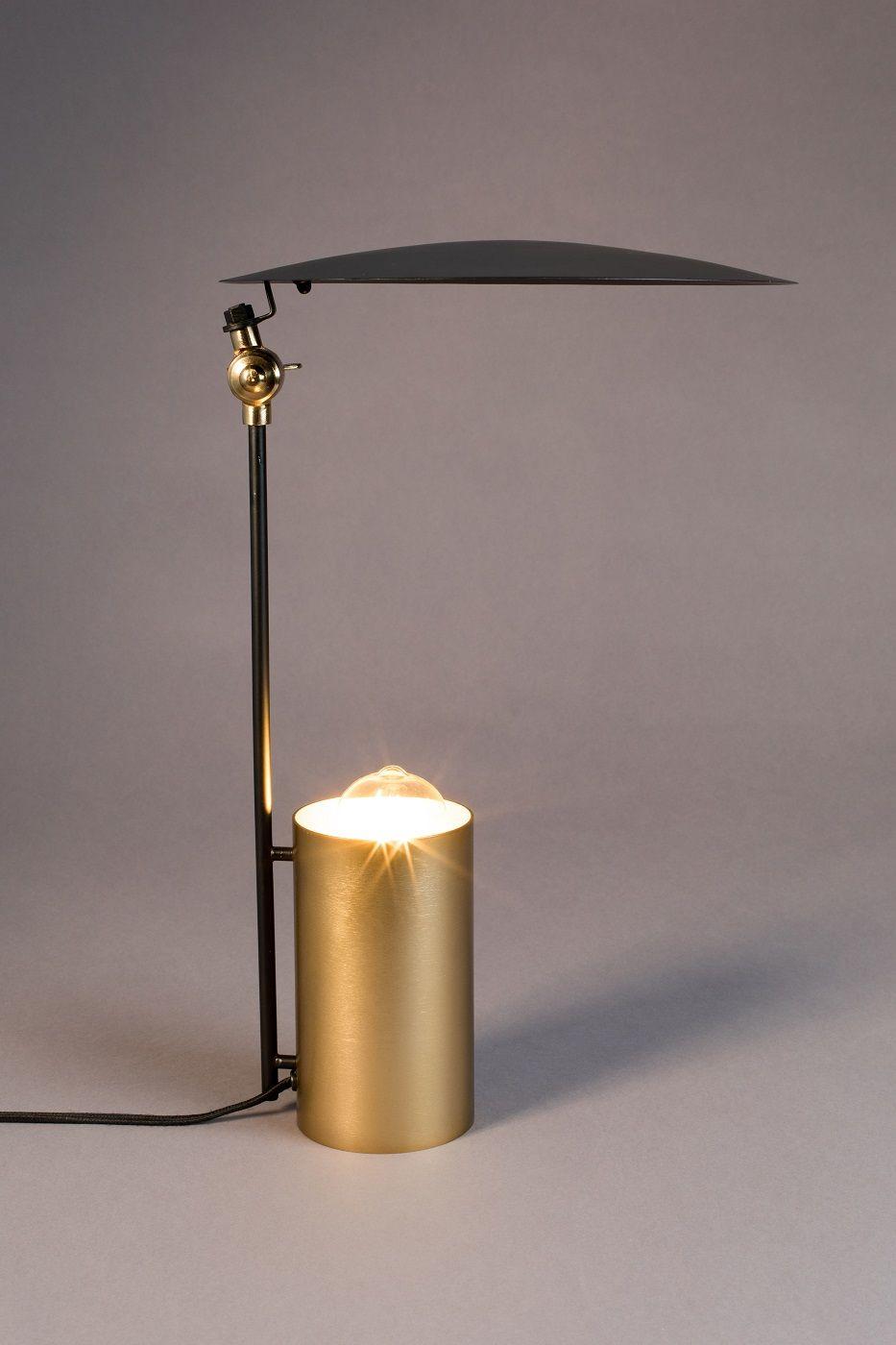 Dutchbone - Julius Skrivebordslampe - Gylden