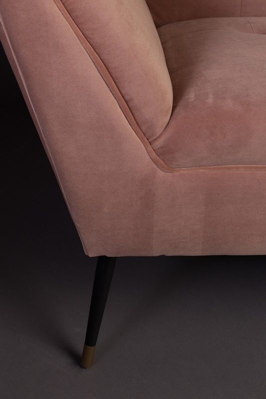 Dutchbone - Kate 2-pers. Sofa - Pink clay