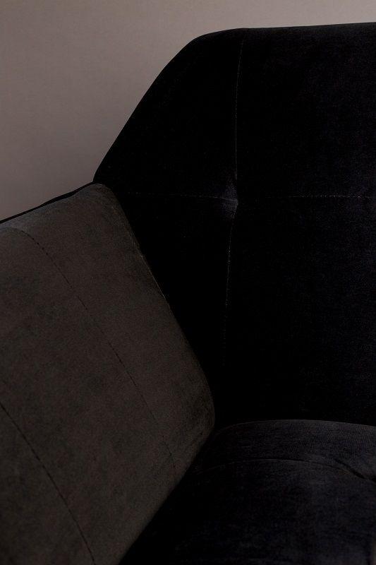 Dutchbone - Kate 2-pers. Sofa - Sort