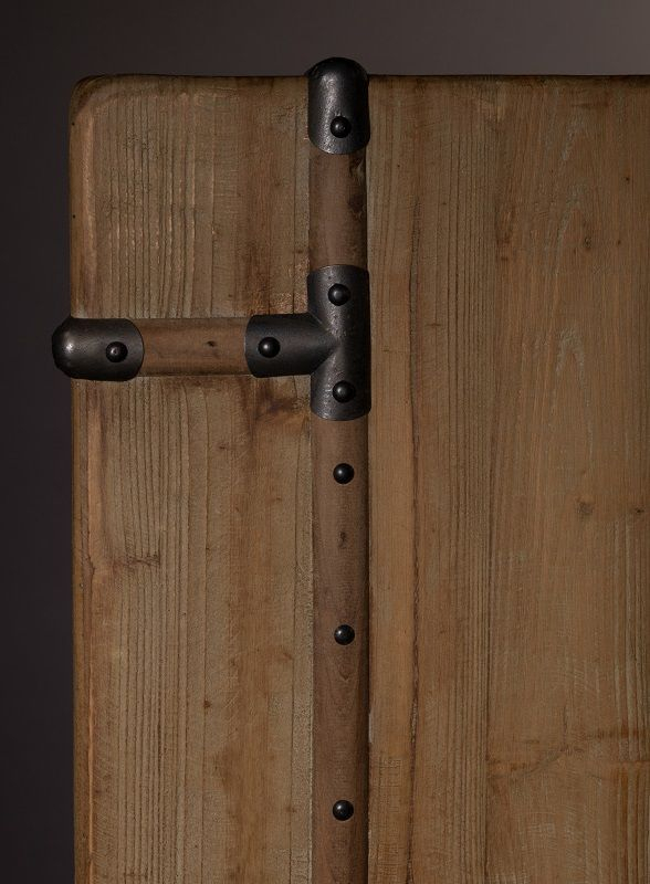 Dutchbone - Lico Skab - Natur - Brunt barskap
