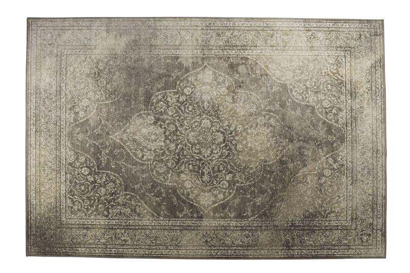 Dutchbone - Rugged Orientalsk Tæppe Lys - 170x240 - 170x240 cm