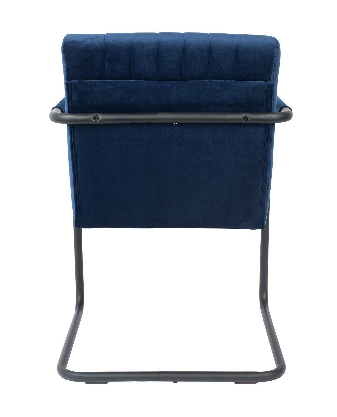 Dutchbone Stitched Spisebordsstol - Blå