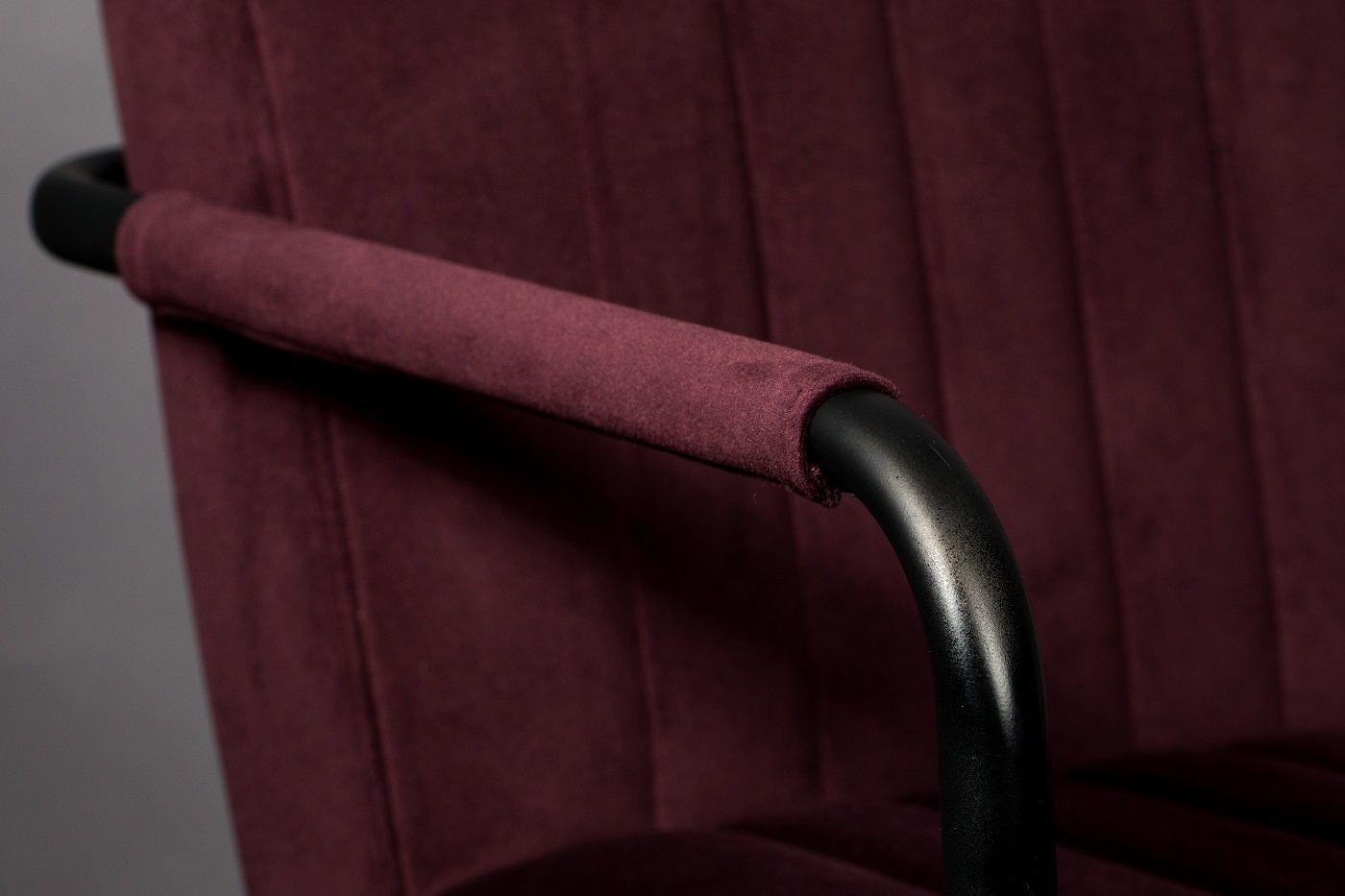 Dutchbone Stitched Spisebordsstol - Blomme