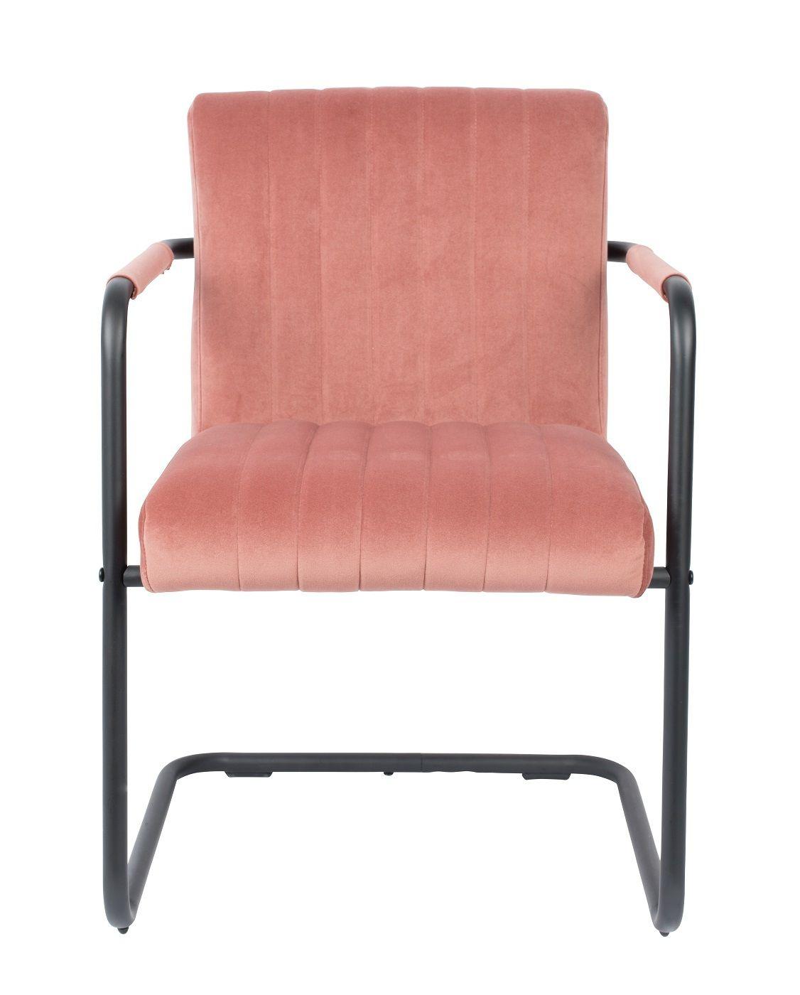 Dutchbone Stitched Spisebordsstol - Pink