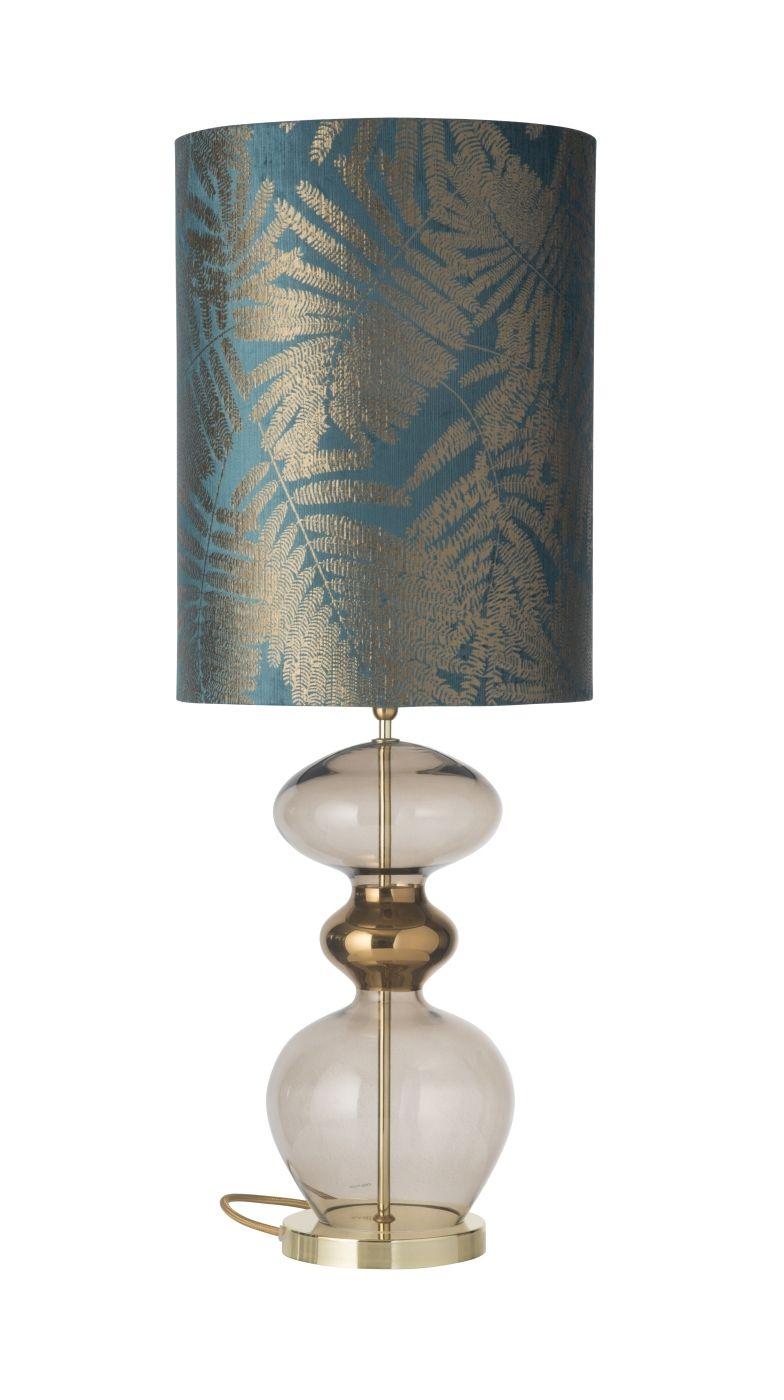 Ebb&Flow - Futura lampefod, Chestnut, Guld base