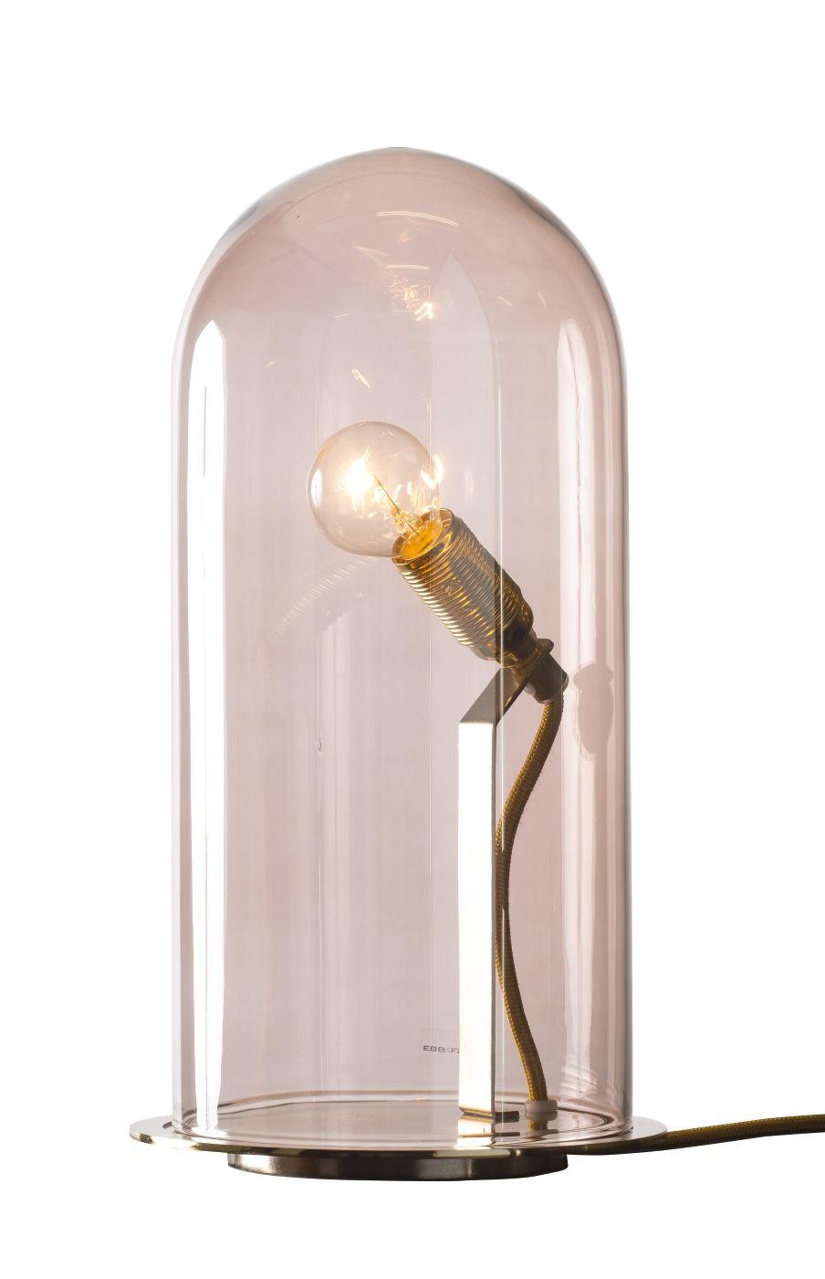 Ebb&Flow - Glasdome til Speak Up! Lamp, obsidian, Ø15,5