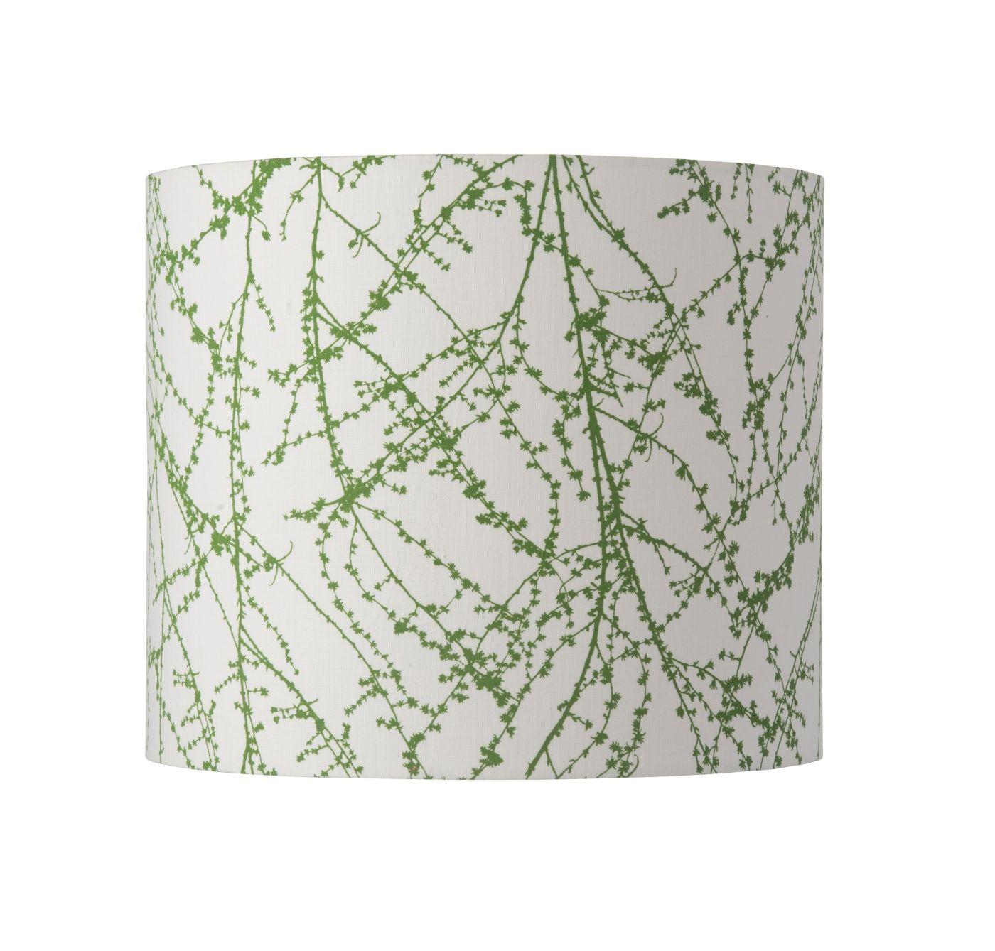 Ebb&Flow - Lampeskærm, branches, grøn, Ø35