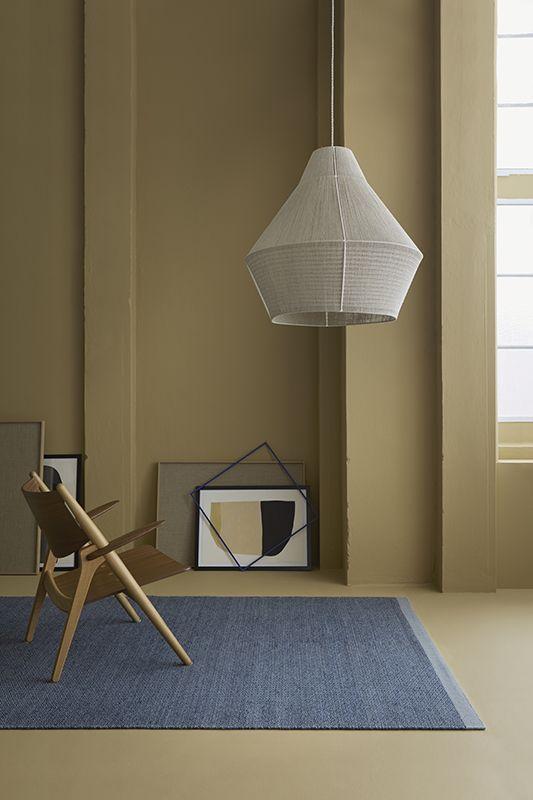 Fabula Living - Balder Grå/blå Kelim - 170x240 - Håndvævet tæppe 170x240 cm