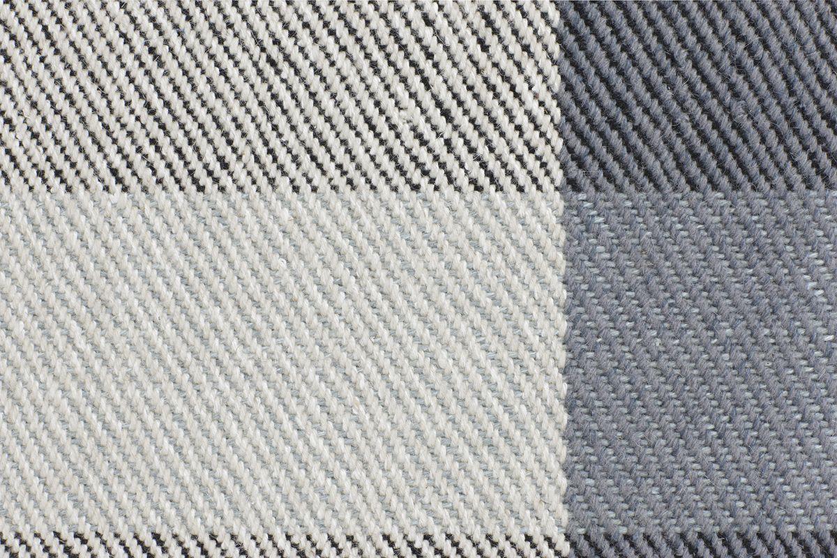 Fabula Living - Camelia Hvid Uldtæppe - 170x240 - Håndvævet tæppe 170x240 cm