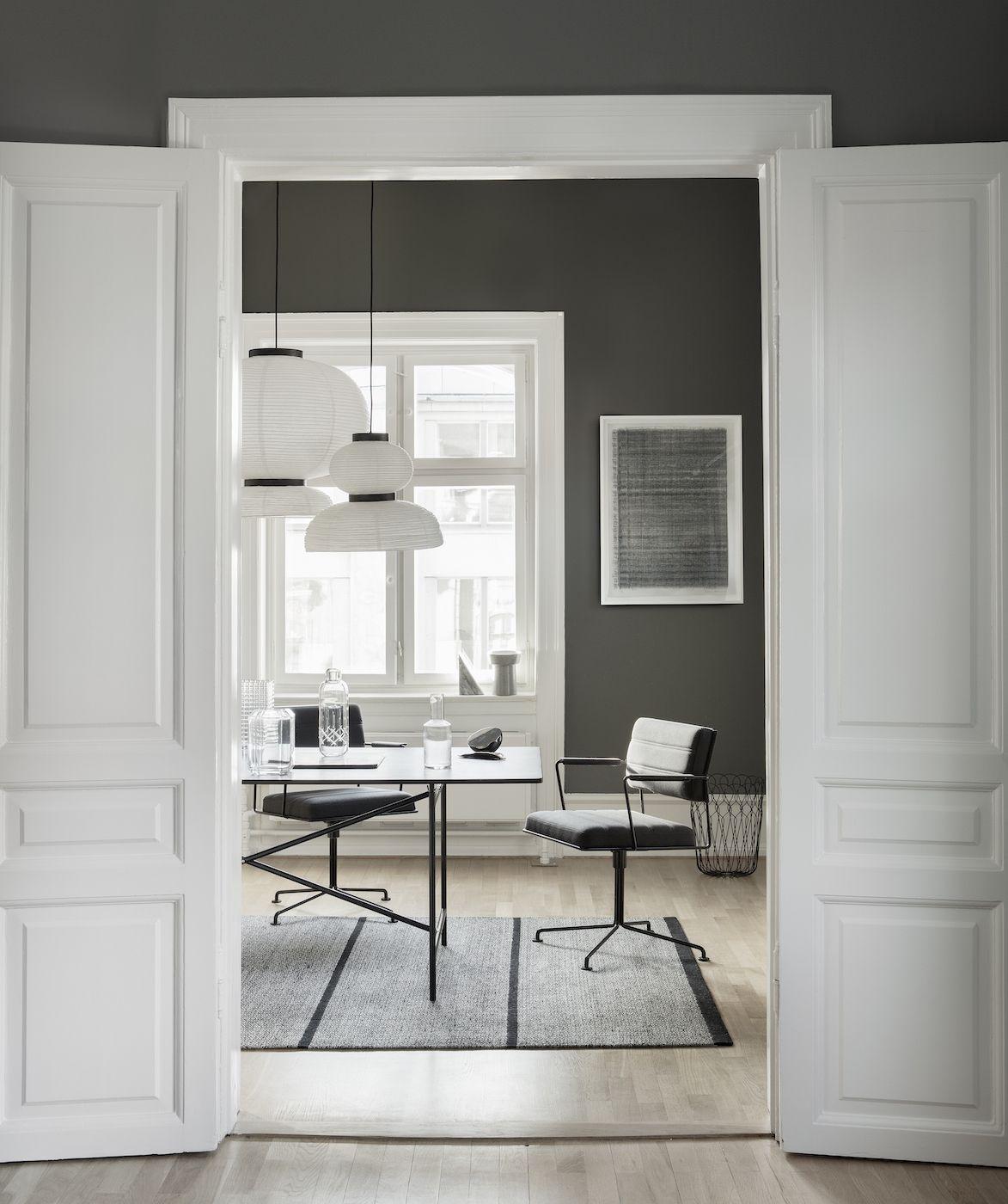 Fabula Living - Elli Kelim, Sort/grå - 200x300
