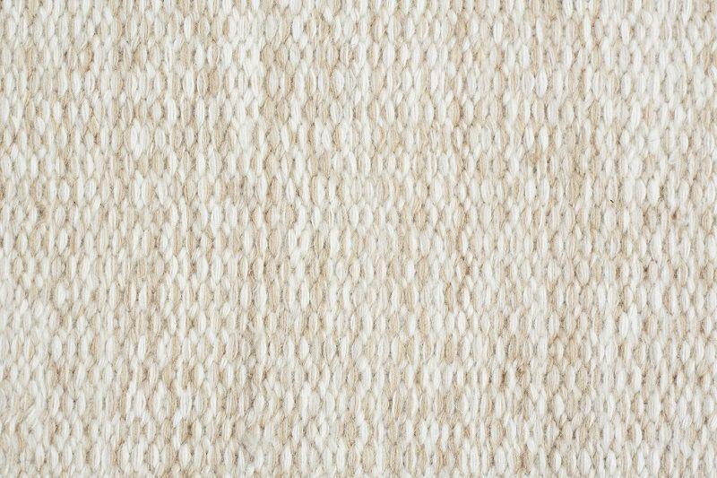 Fabula Living - Gimle Hvid Kelim - 170x240 - Håndvævet Kelim 170x240 cm