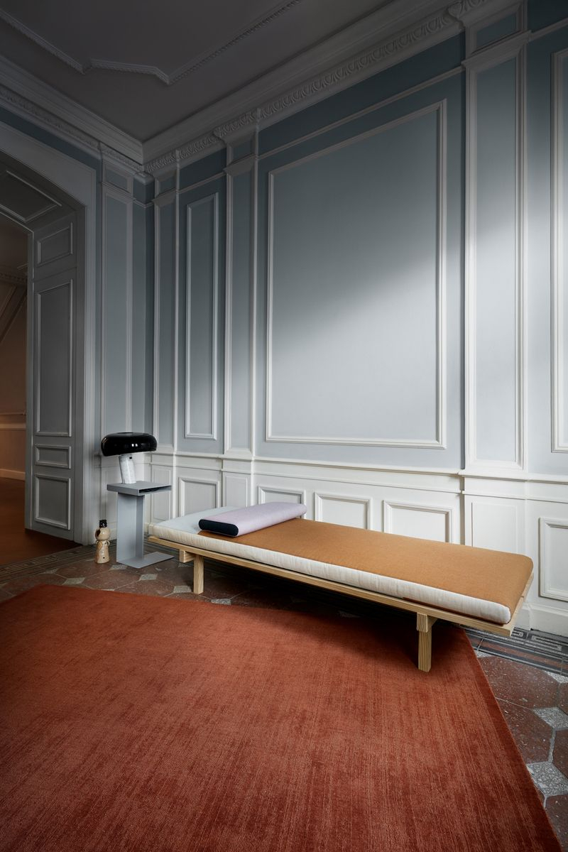 Fabula Living - Loke Terracotta Uldtæppe - 170x240