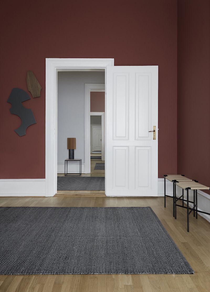 Fabula Living - Myrtus Sort/Grå Kelim - 200x300