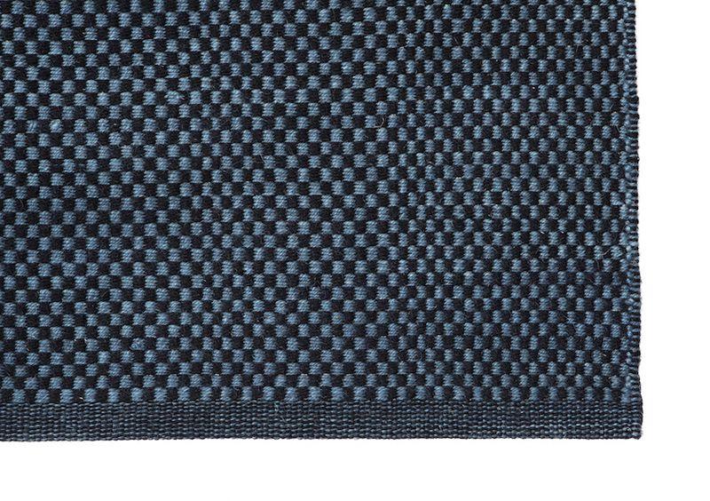 Fabula Living - Myrtus Sort/Midnatsblå Kelim - 170x240