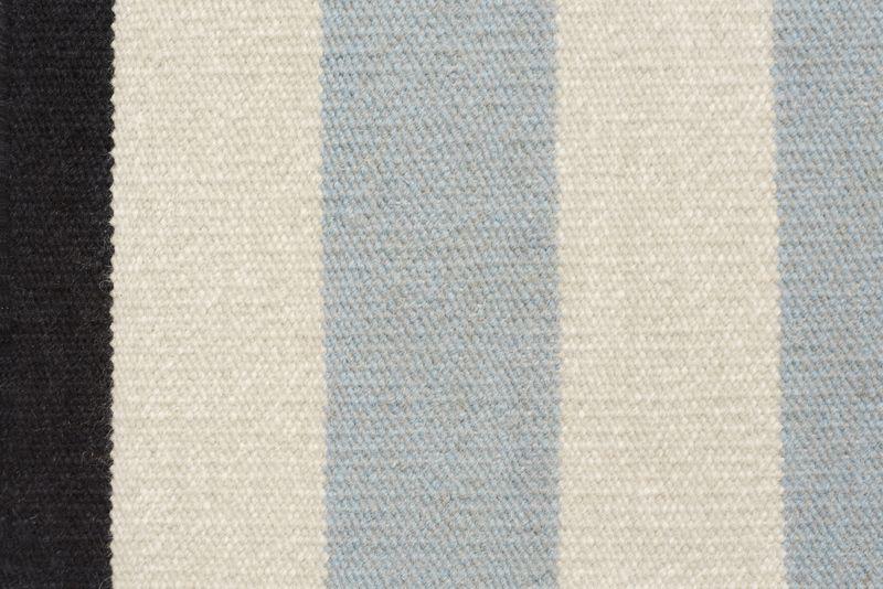 Fabula Living - Nigella  Blå Løber - 90x250 - Håndvævet Kelim 90 x 250 cm