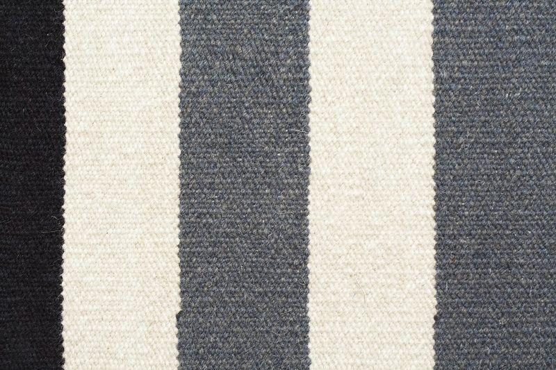 Fabula Living - Nigella Grå Kelim - 170x240 - Håndvævet Kelim 170x240 cm