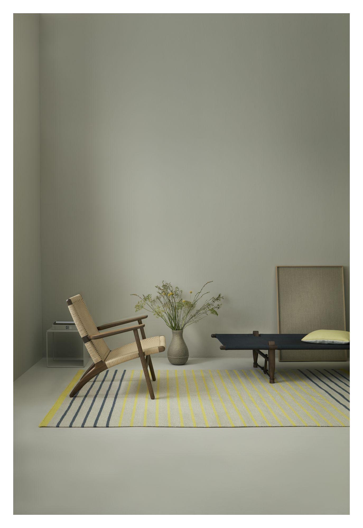 Fabula Living - Poppy Gul Kelim - 200x300 - Håndvævet Kelim 200x300 cm